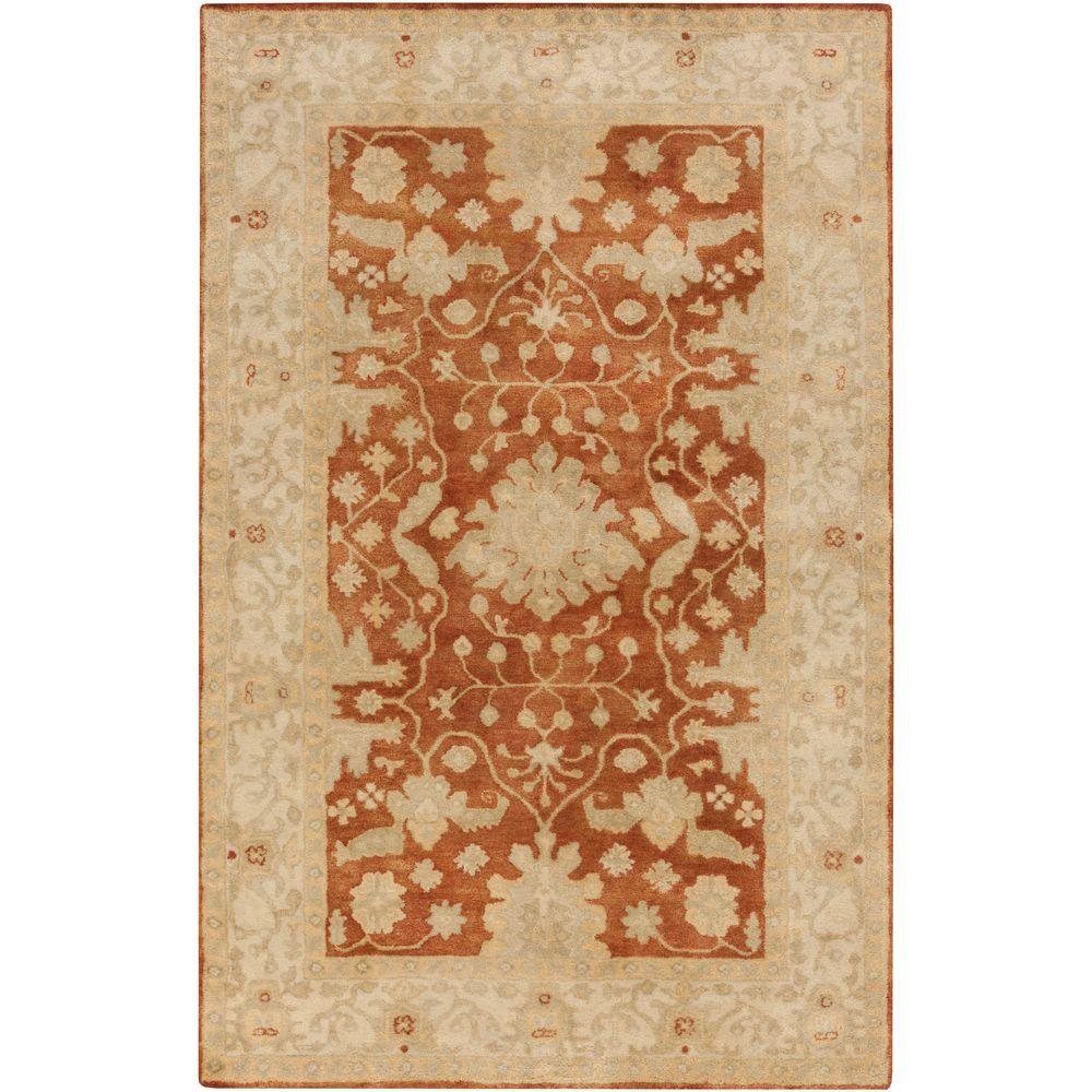 Qena Rust 8 ft. x 10 ft. Indoor Area Rug