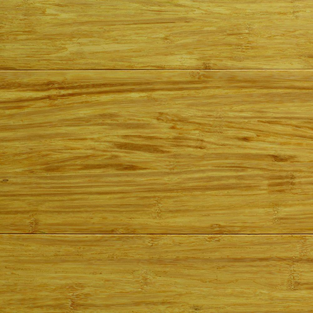 Home Decorators Collection Strand Woven Natural Bamboo 1/2 in. Thick x 5-1/8 in. Wide x 72 in. Length Solid Bamboo Flooring (23.29 sq. ft. / case)