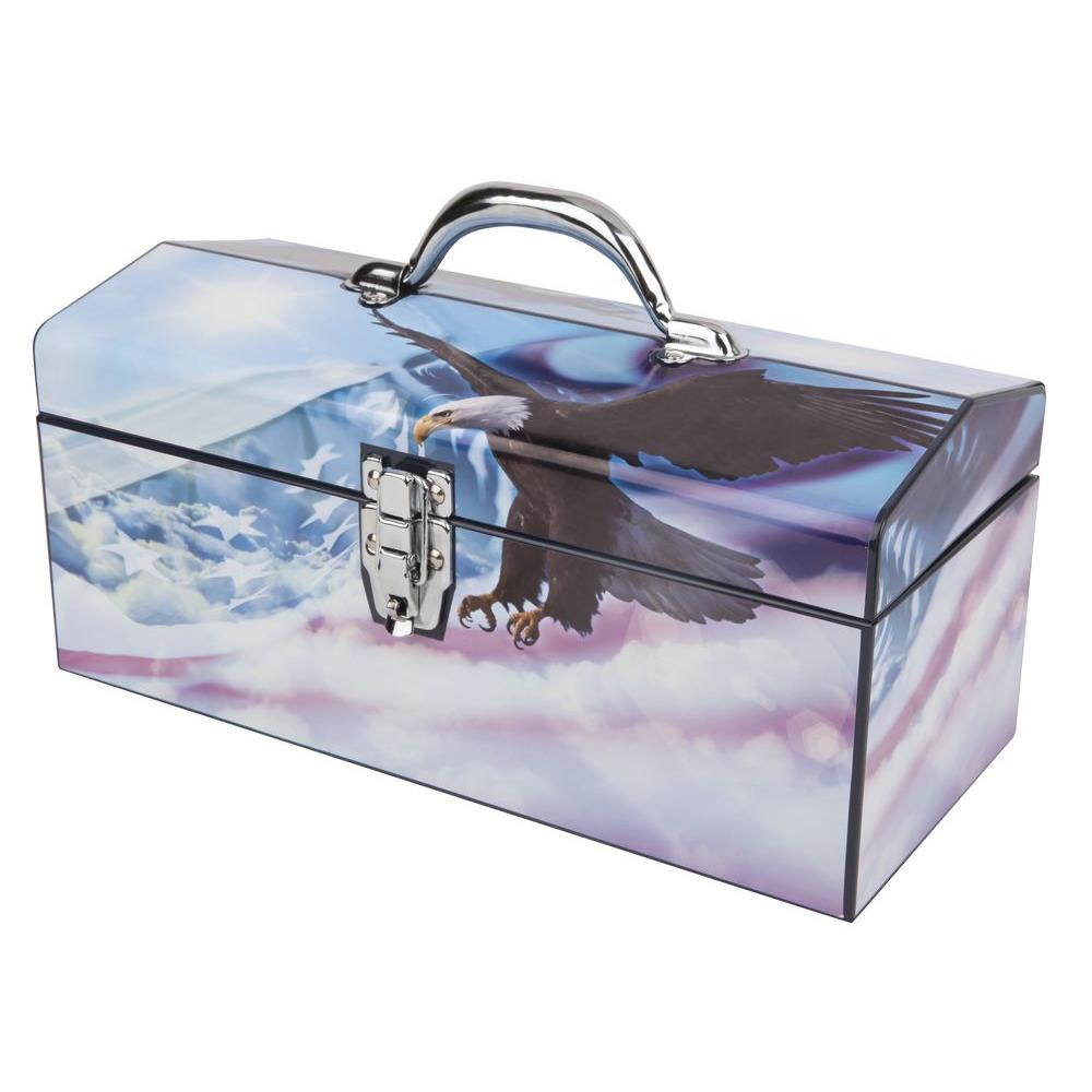 Sainty International 16 in. Flying Free Above the Clouds Art Tool Box