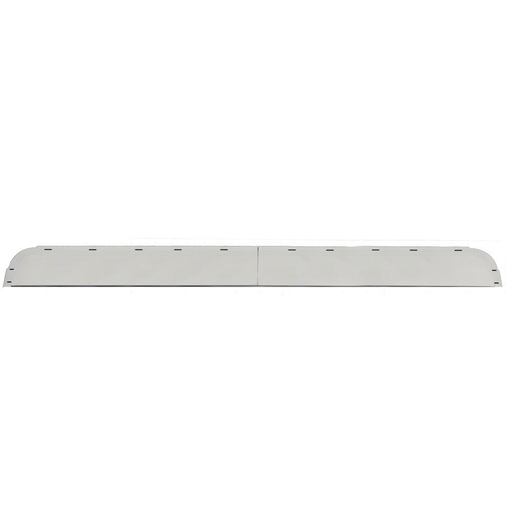 Builders Edge 6 in. x 65 5/8 in. J-Channel Back-Plate for Window Header in 030 Paintable