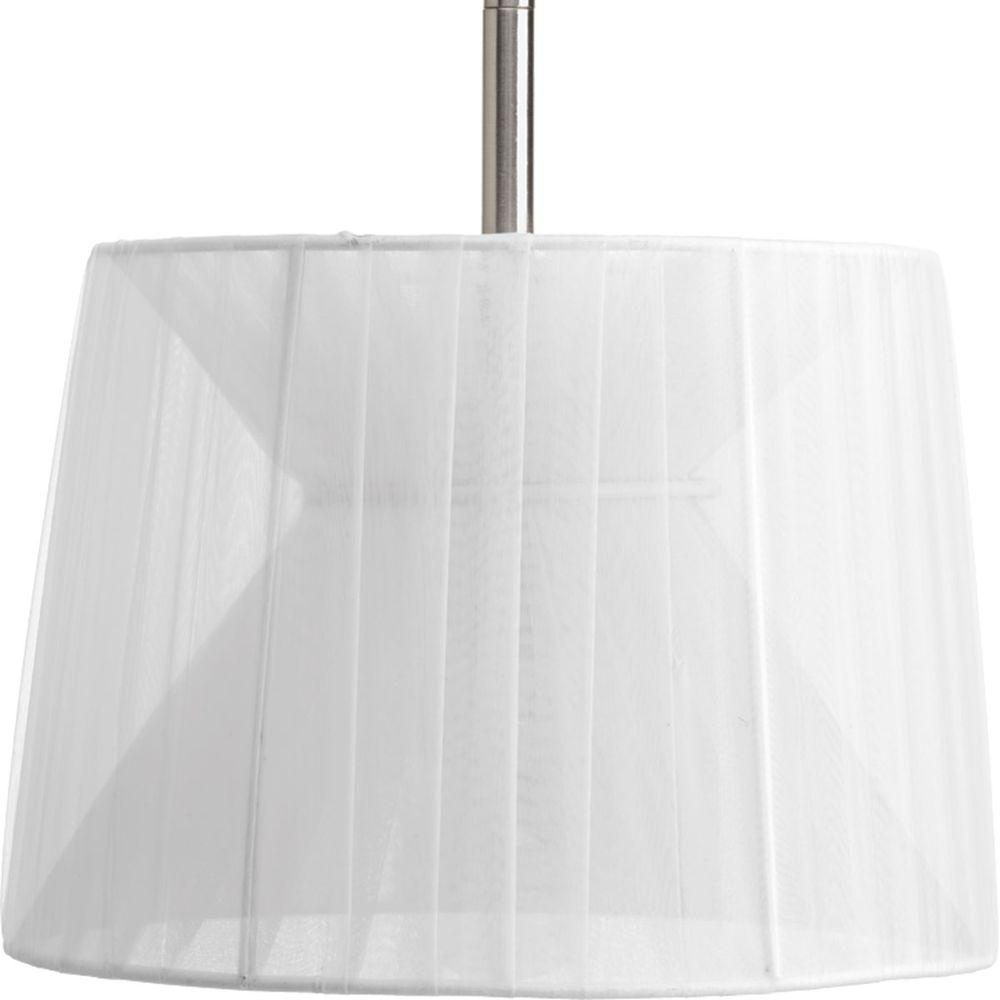 Progress Lighting Markor Collection Silver Chiffon Accessory Shade-P8928-01 -