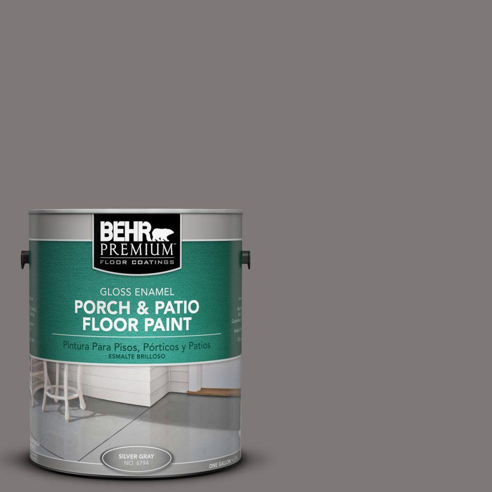 BEHR Premium 1-Gal. #PFC-74 Tarnished Silver Gloss Porch and Patio Floor