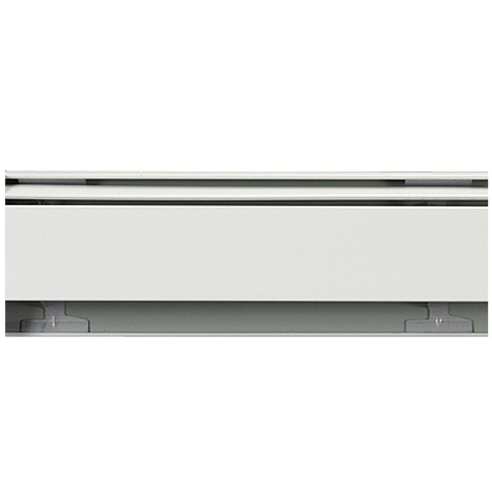 Fine/Line 30 5 ft. Hydronic Baseboard Heating Enclosure Only in Nu-White