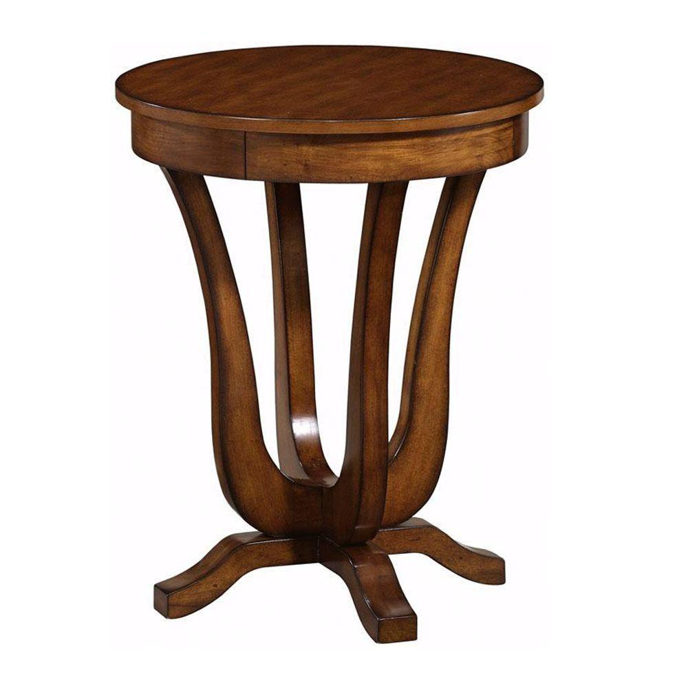 Home Decorators Collection Warm Cherry Classic Anywhere Table