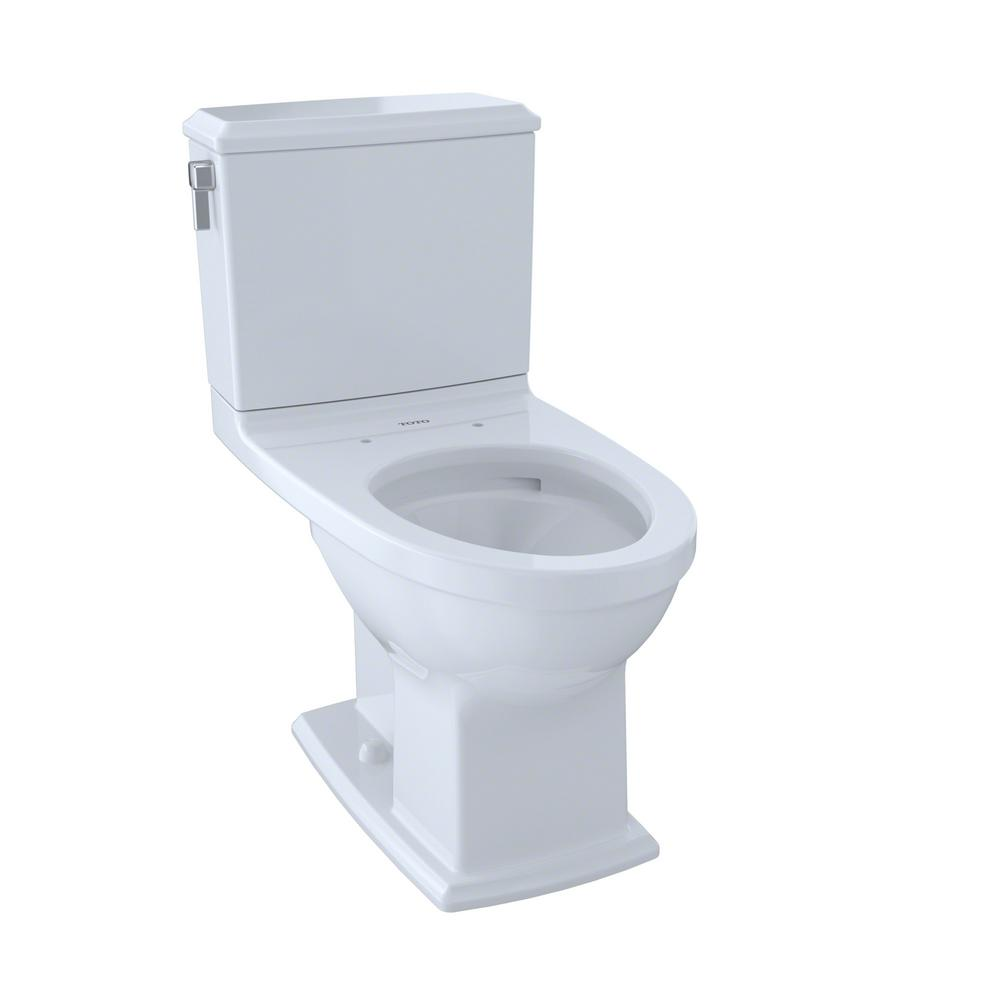 Connelly 2-Piece 0.9/1.28 GPF Dual Flush Elongated Toilet with CeFiONtect in
