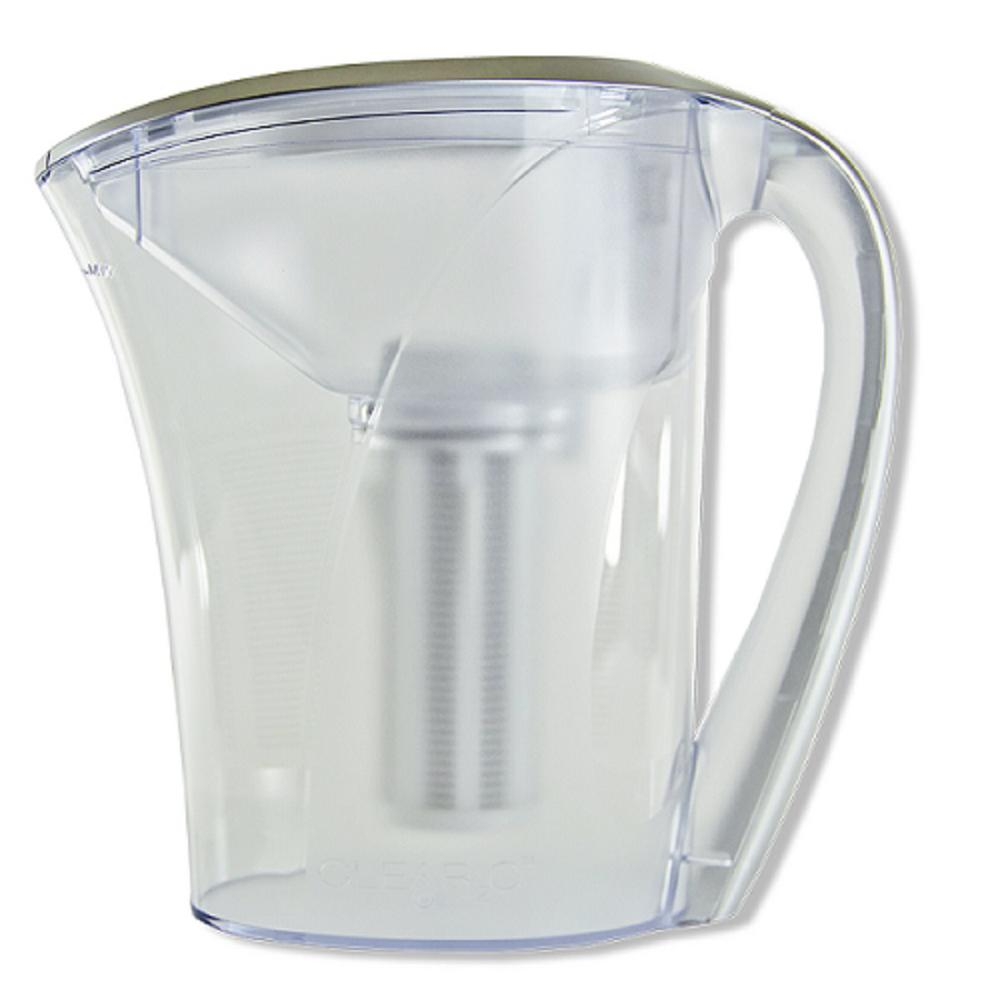 6-Glass Capacity Gravity Advanced Filter Water Pitcher