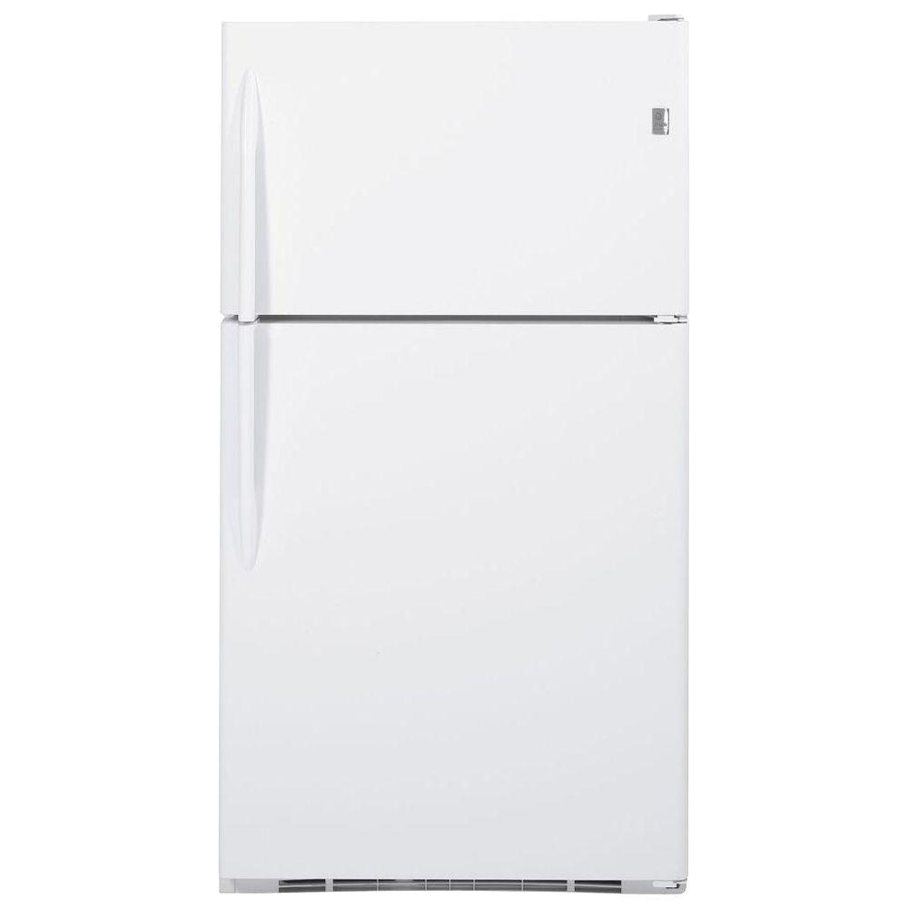 GE Profile 24.6 cu. ft. Top Freezer Refrigerator in White