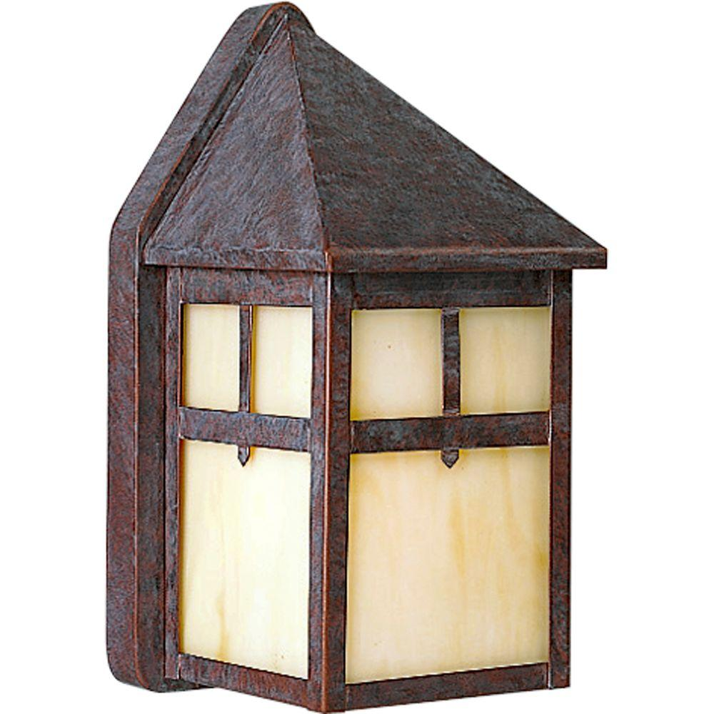 Progress Lighting Mission Collection Cobblestone 1-light Wall Lantern-DISCONTINUED