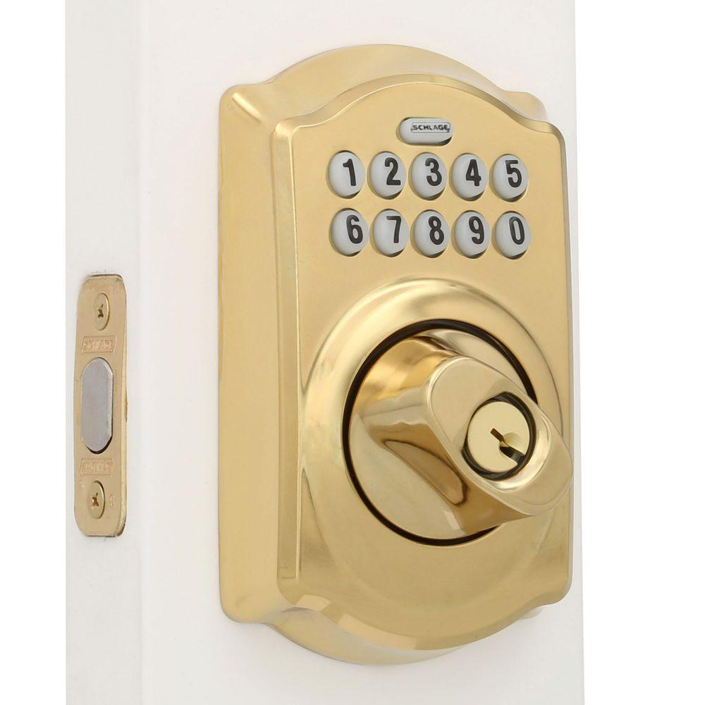 buy now electronic deadbolts schlage deadbolts. Black Bedroom Furniture Sets. Home Design Ideas