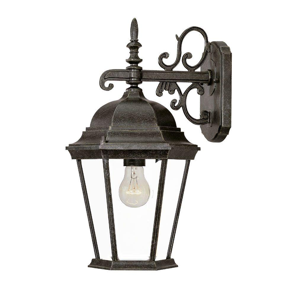 Acclaim Lighting Richmond Collection Wall-Mount 1-Light Outdoor Stone Light Fixture-DISCONTINUED