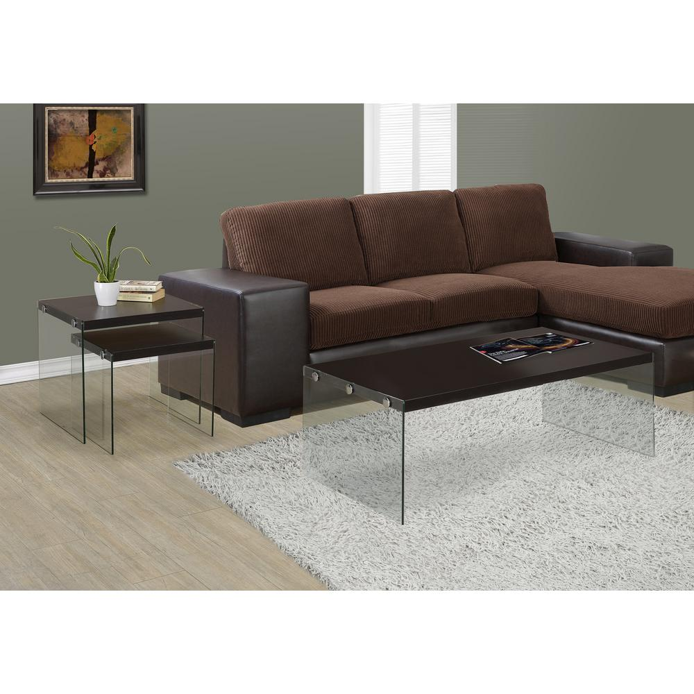 In L Cappuccino Coffee TableI  The Home Depot - Cappuccino coffee table