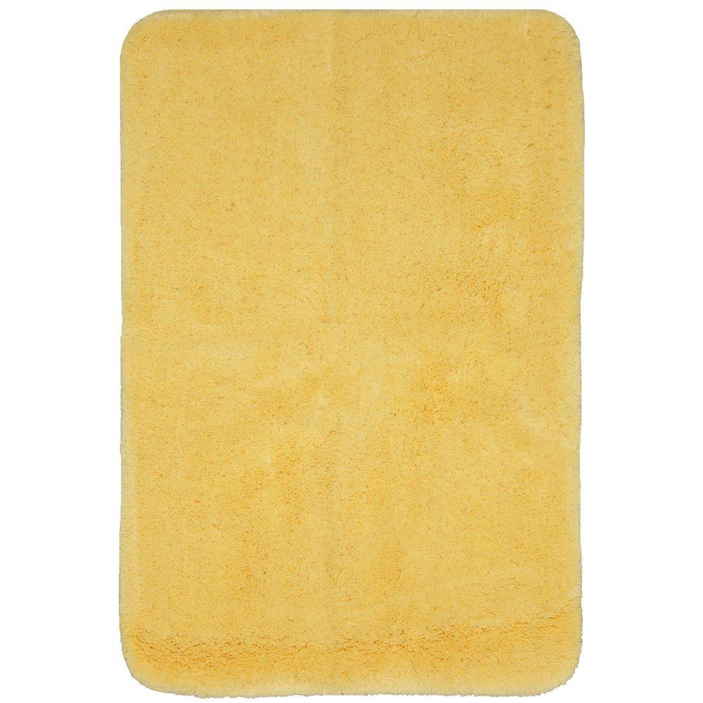 Mohawk Home Lila 21 in. x 34 in. Golden Haze Bath Rug-DISCONTINUED