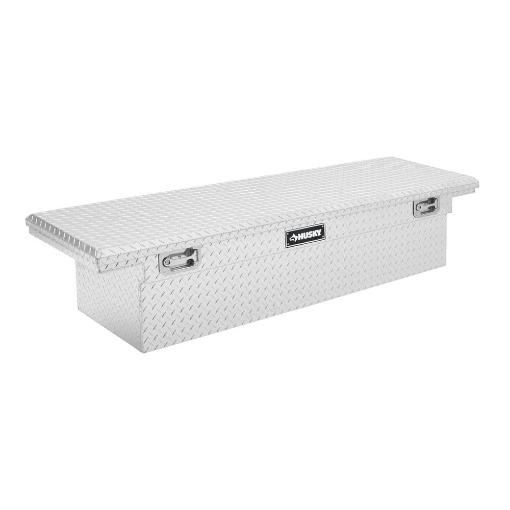 70 in. Aluminum Polished Low-Profile Truck Box