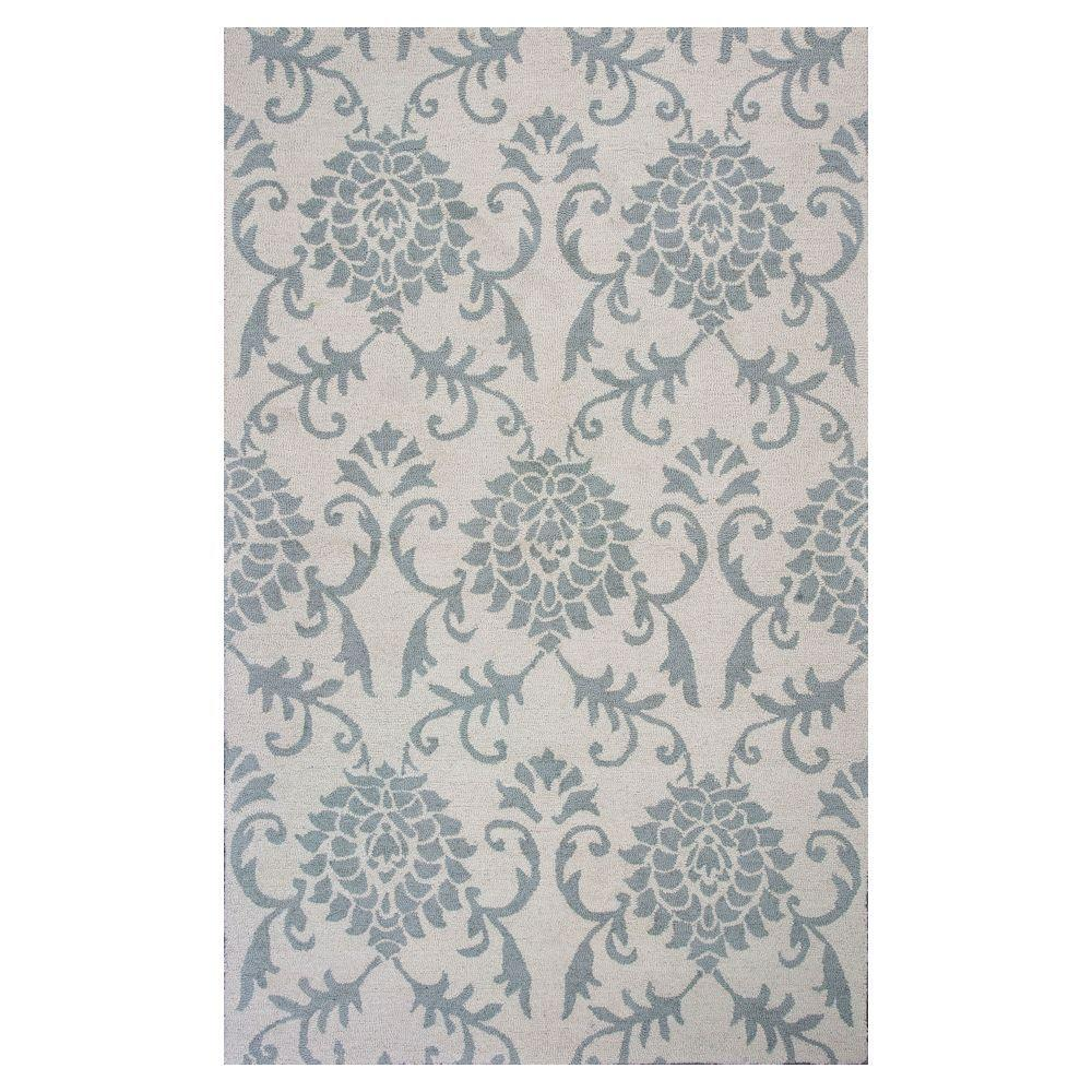 Kas Rugs Upper Class Ivory 8 ft. x 10 ft. Area