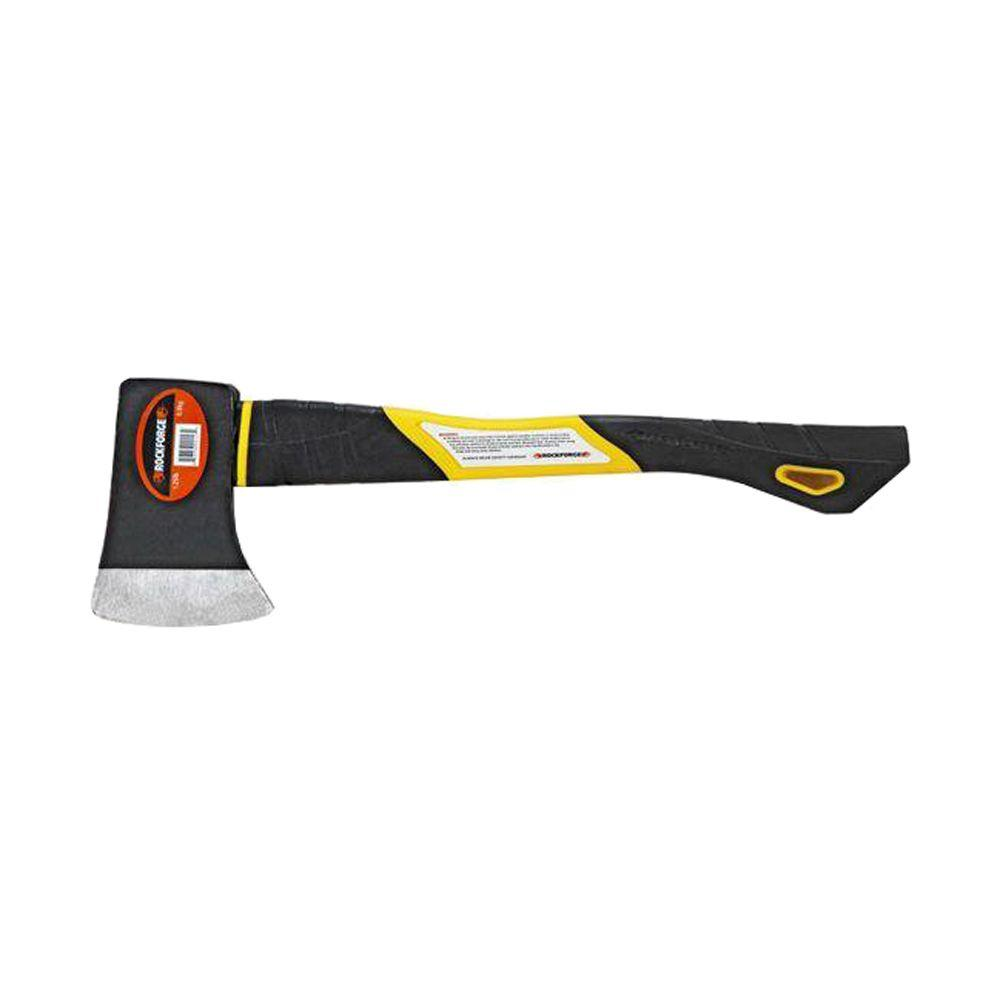ROCKFORGE 1-1/4 lb. Camp Axe with Fiberglass Handle-GXX-400 FGH - The