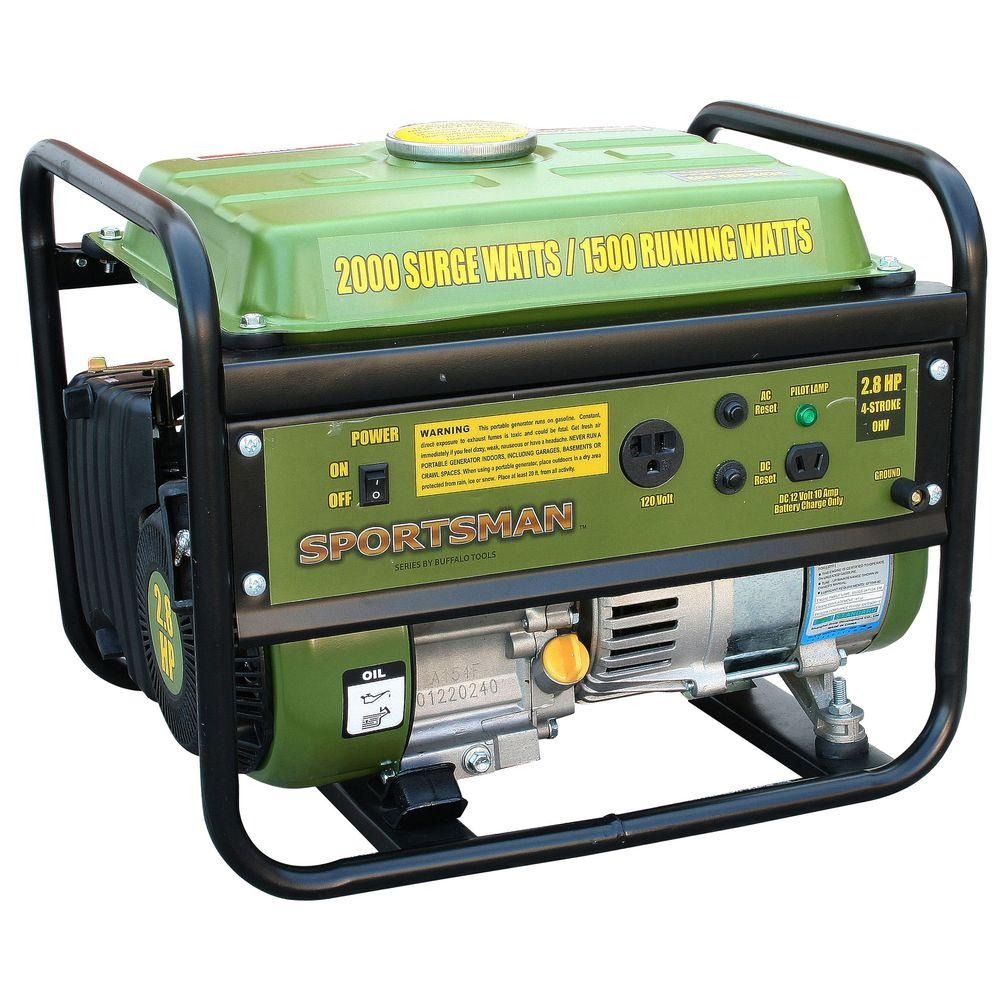 Sportsman 2,000-Watt Gasoline Powered Portable Generator-DISCONTINUED