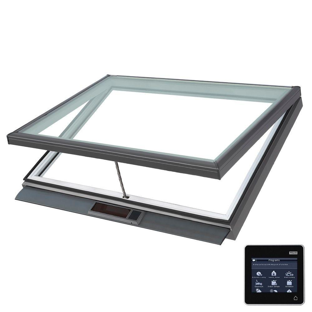 VELUX 46-1/2 in. x 22-1/2 in. Solar Powered Fresh Air Venting
