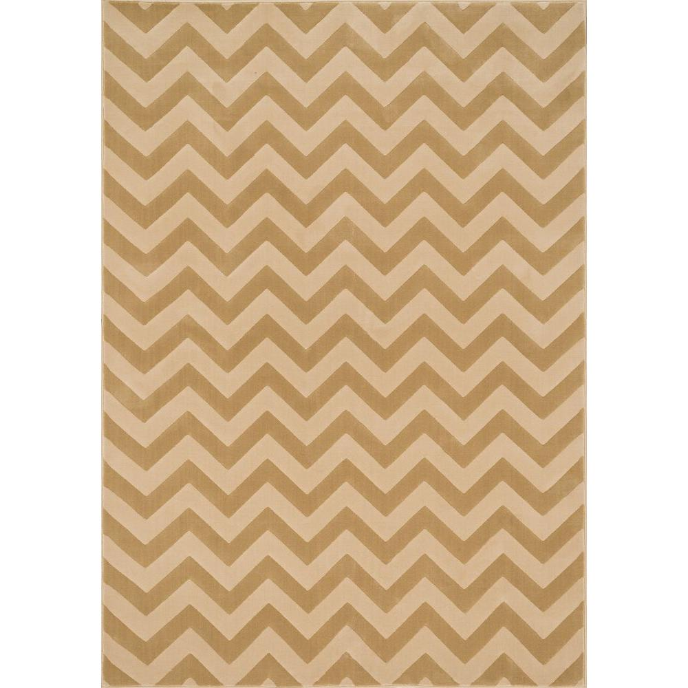 Shelton Lifestyle Collection Beige/Ivory 3 ft. 10 in. x 5 ft.