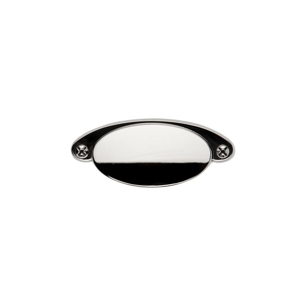 Sumner Street Home Hardware Ovaline 3 in. Polished Nickel Cup Pull-RL060476