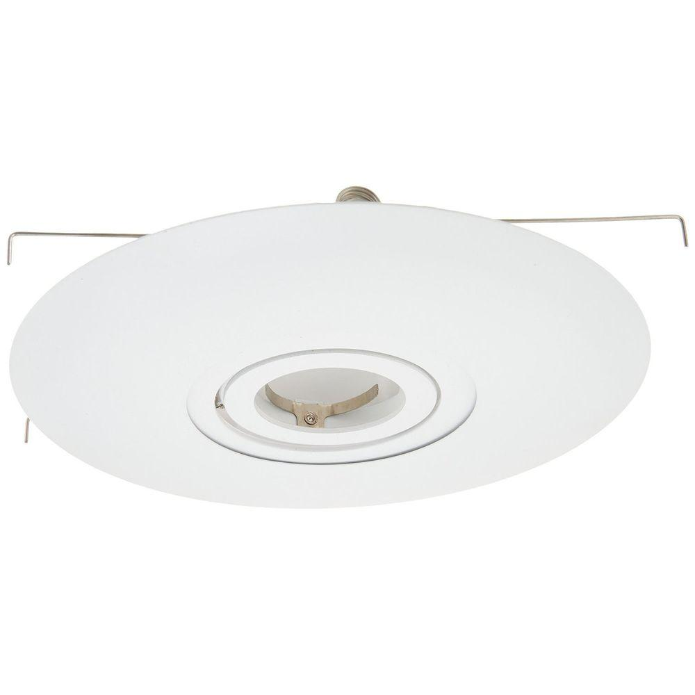 6 in. White Recessed Conversion Kit