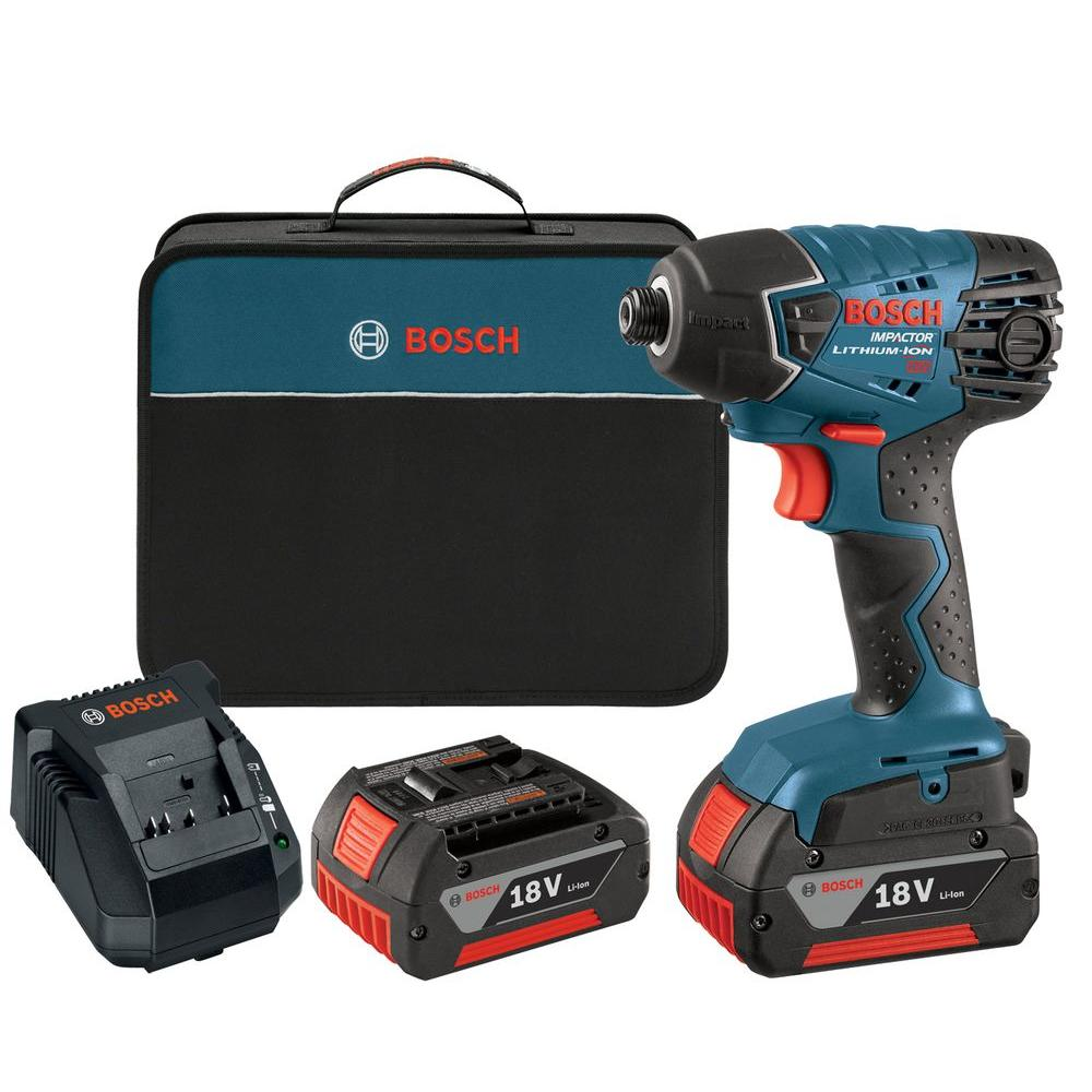 18 Volt Lithium-Ion Cordless Electric 1/4 in. Hex Variable Speed Impact