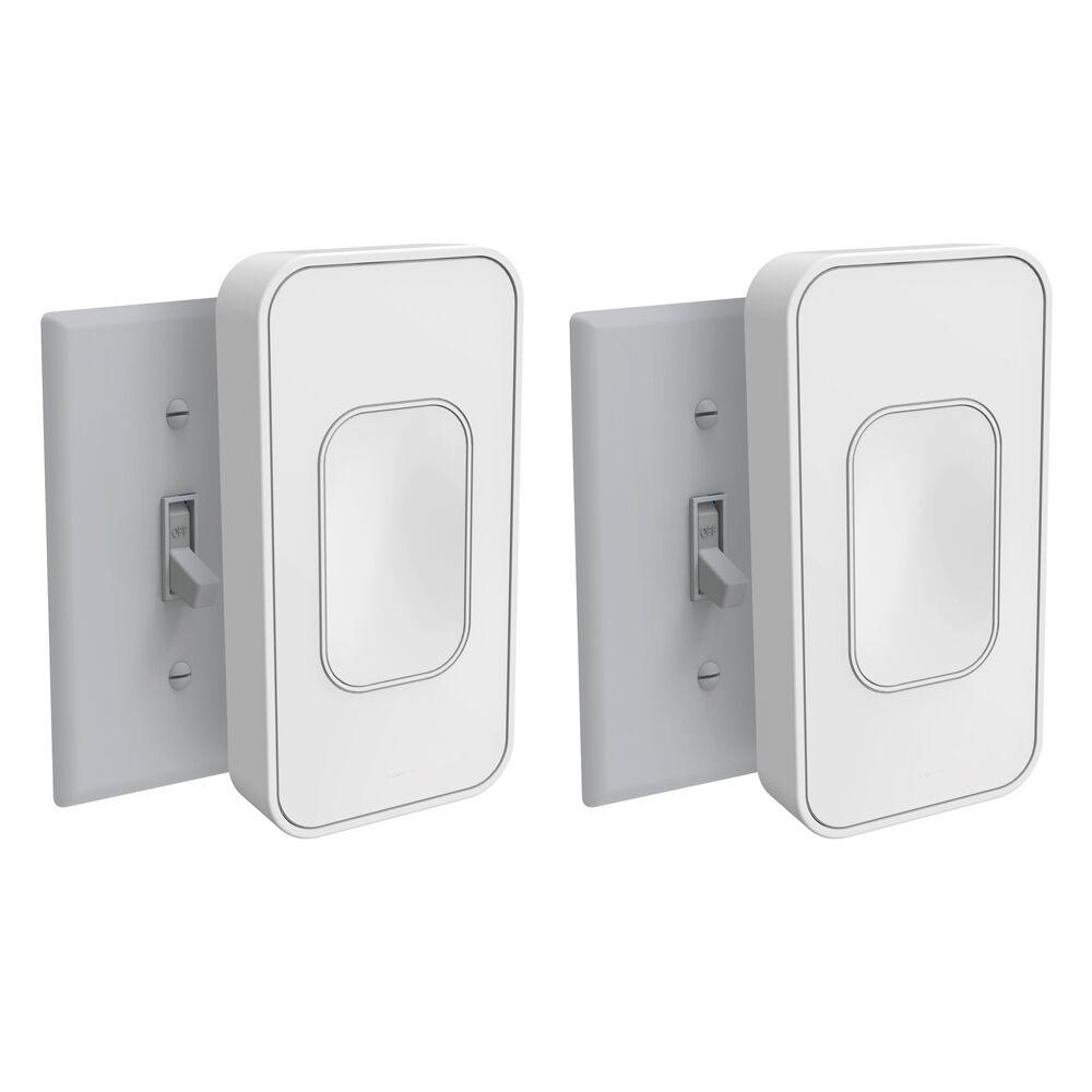 Light Switch Toggle, White (2-Pack)