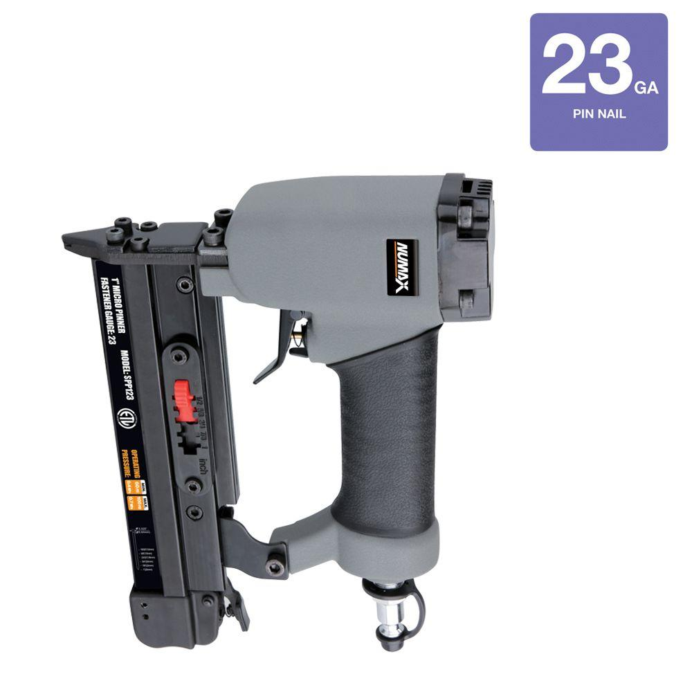 NuMax Reconditioned Pneumatic 1 in. x 23-Gauge Class C Headless Pin Nailer-DISCONTINUED