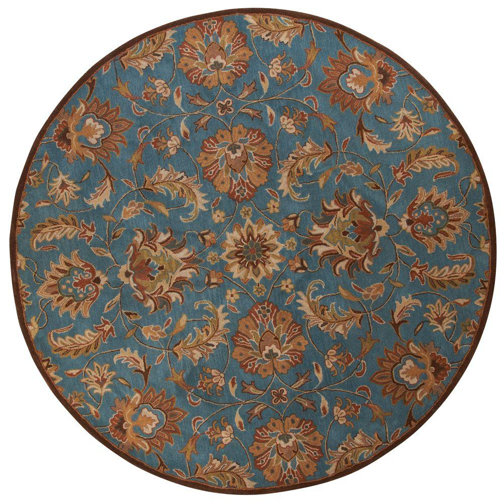 Home Decorators Collection Vogue Teal Blue 8 Ft. Round