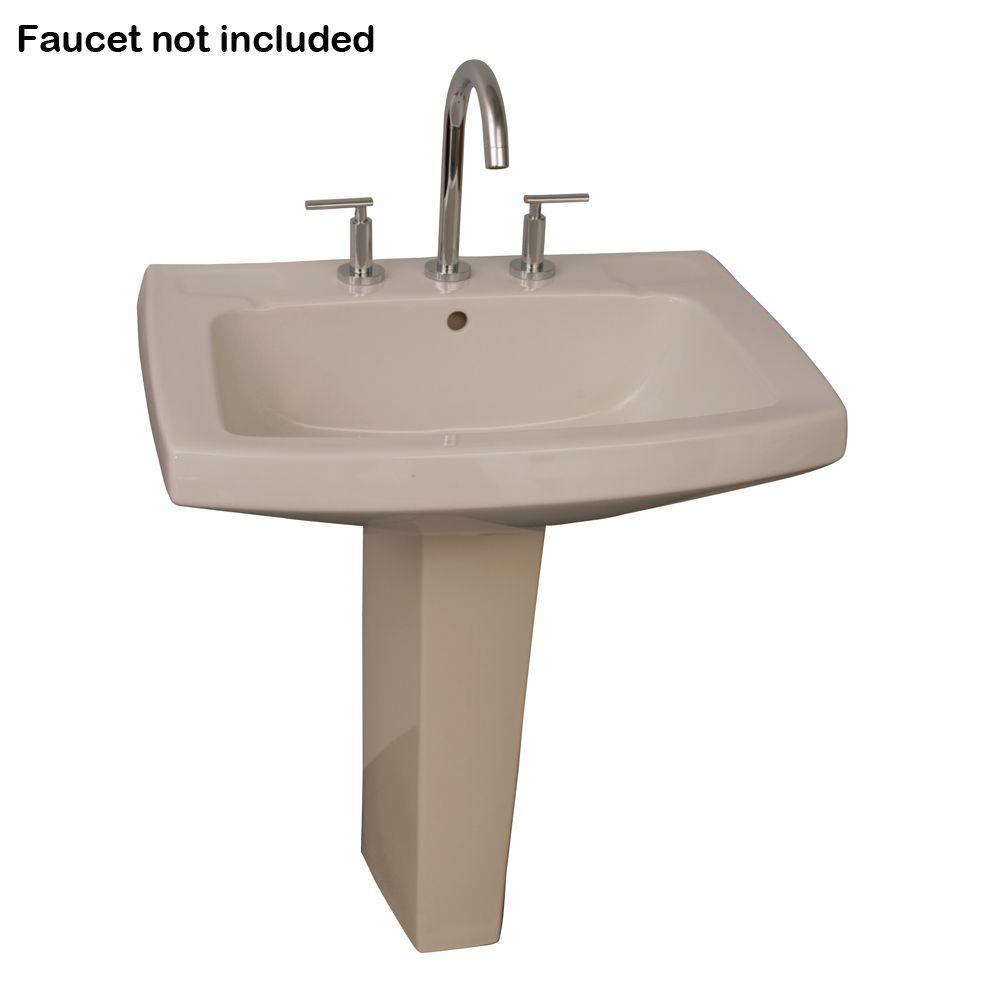 blancoamerica com kitchen sinks barclay products galaxy pedestal combo bathroom sink in 4789