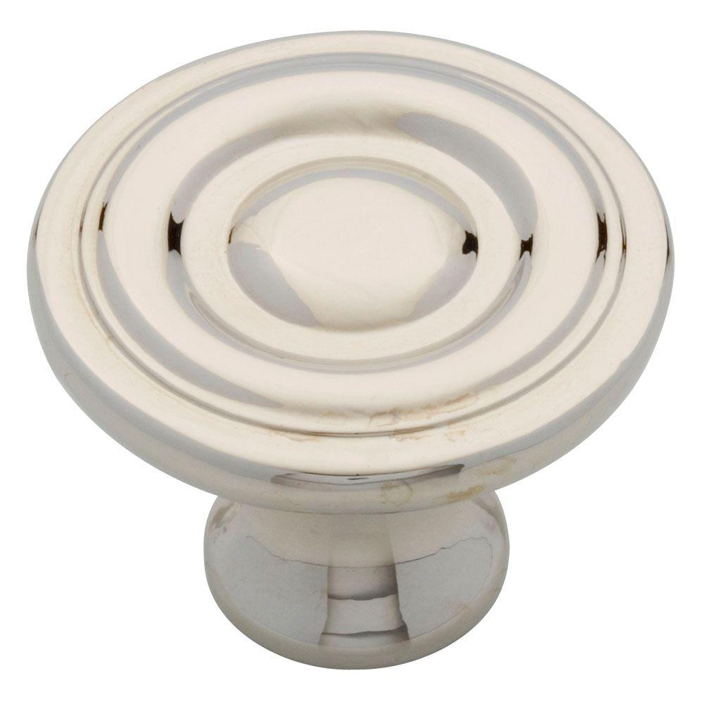 Liberty 1-1/4 in. Polished Nickel Ring Round Cabinet Knob