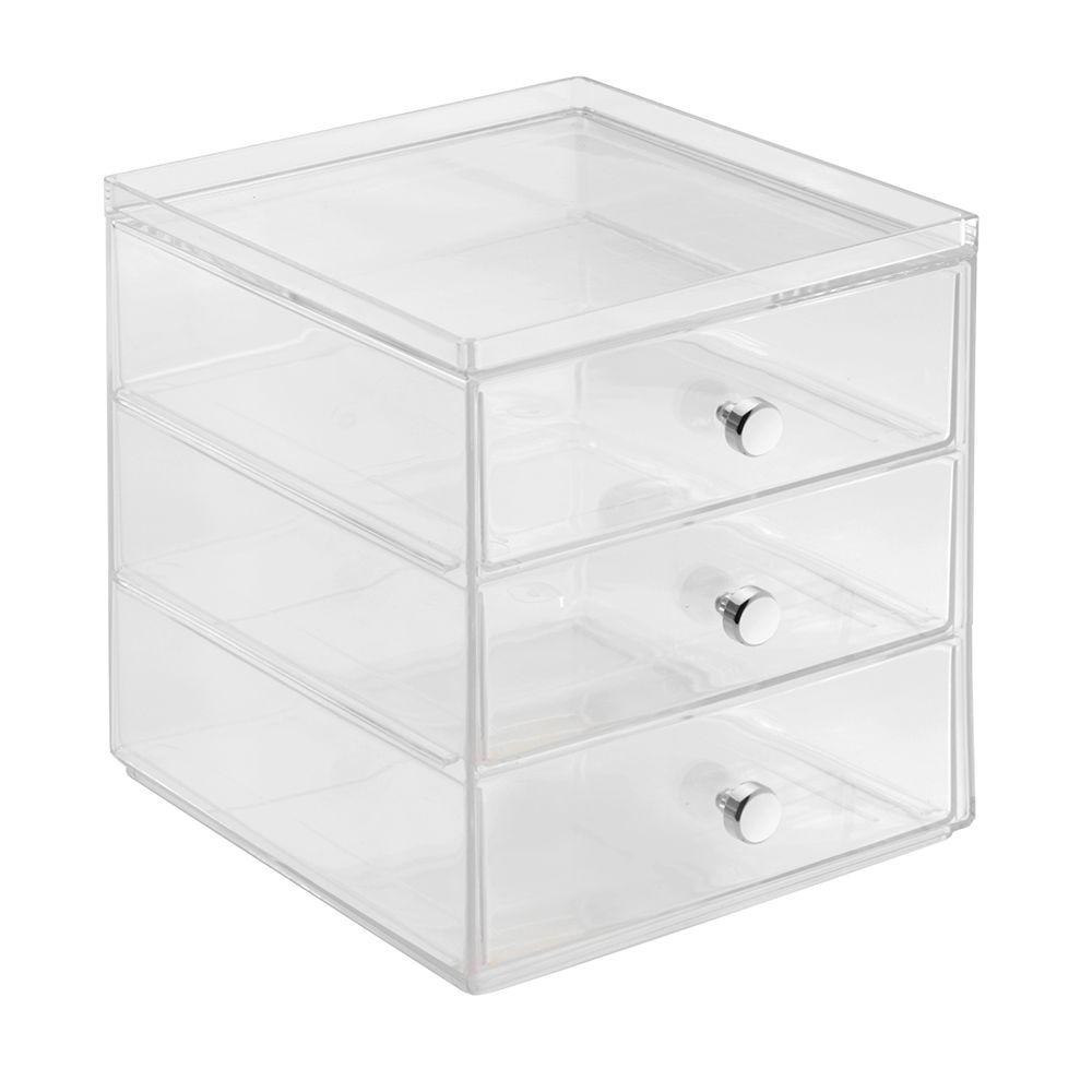 interDesign Clarity 3-Drawer Coffee Pod Organizer in Clear-36298 - The Home