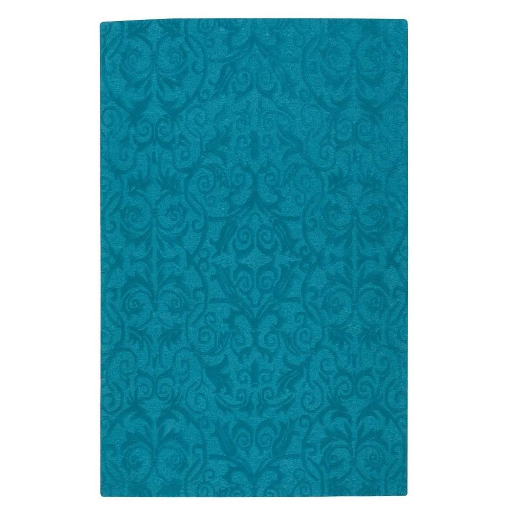 Bella Teal 3 ft. 6 in. x 5 ft. 6 in.