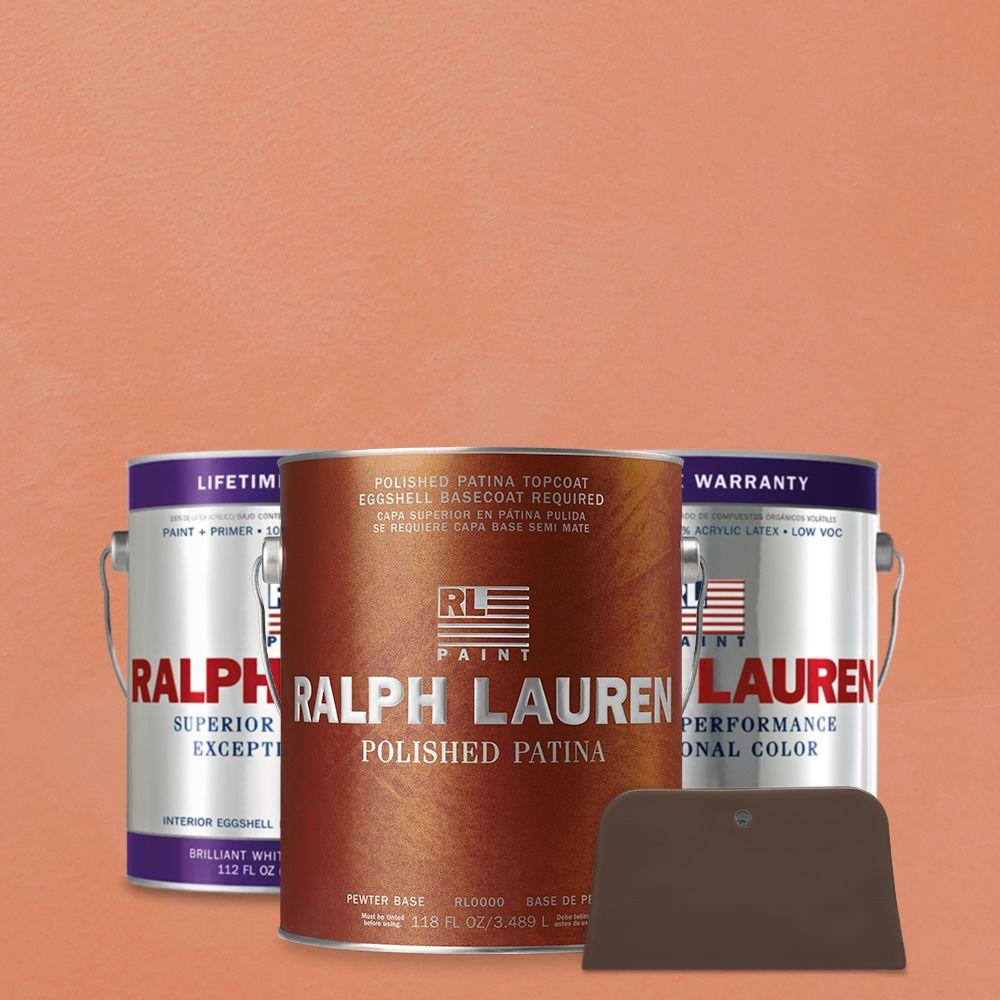 Ralph Lauren 1 gal. Rosa Aurora Pewter Polished Patina Interior Specialty