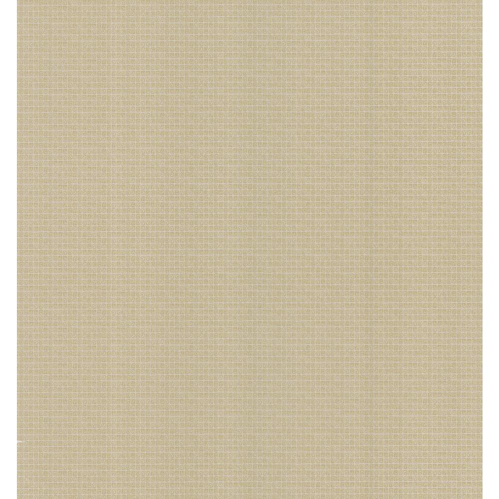 Brewster 56 sq. ft. Small Grid Texture Wallpaper-DISCONTINUED