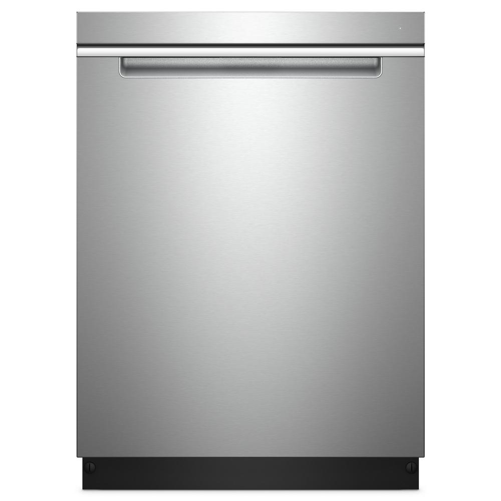 Whirlpool Top Control Built-In Tall Tub Dishwasher in Fin...