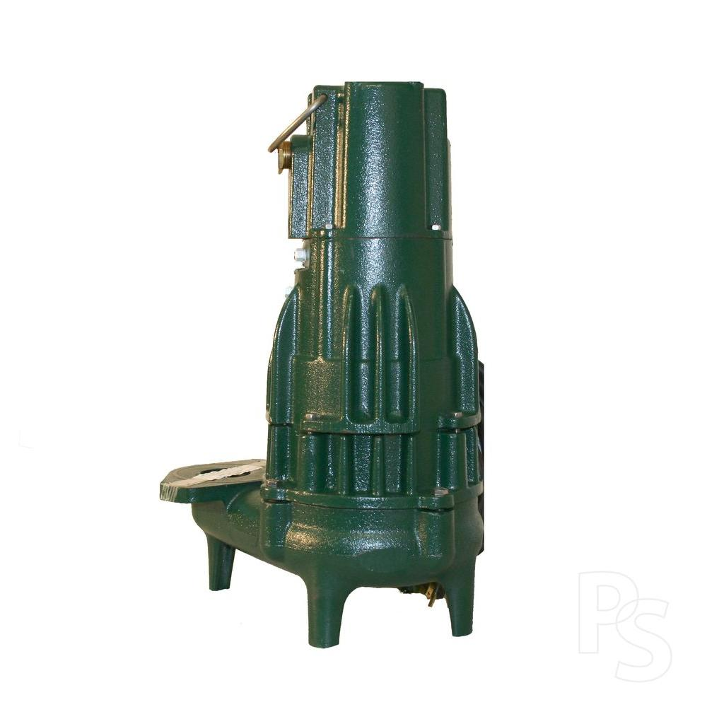 Zoeller High Head Waste-Mate N292 .5 HP Submersible Sewage or Dewatering Non-Automatic Pump-DISCONTINUED