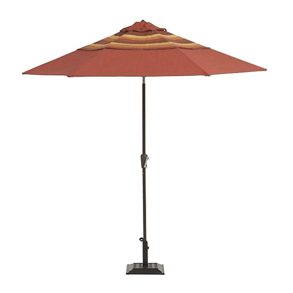 Martha Stewart Living Belle Isle 9 ft. Patio Umbrella-DISCONTINUED