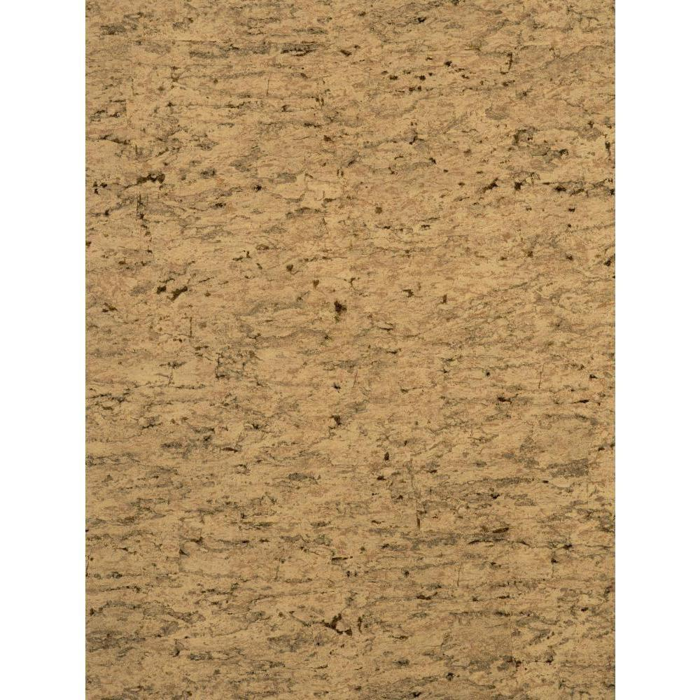 York Wallcoverings 57.75 sq. ft. Sueded Cork Wallpaper