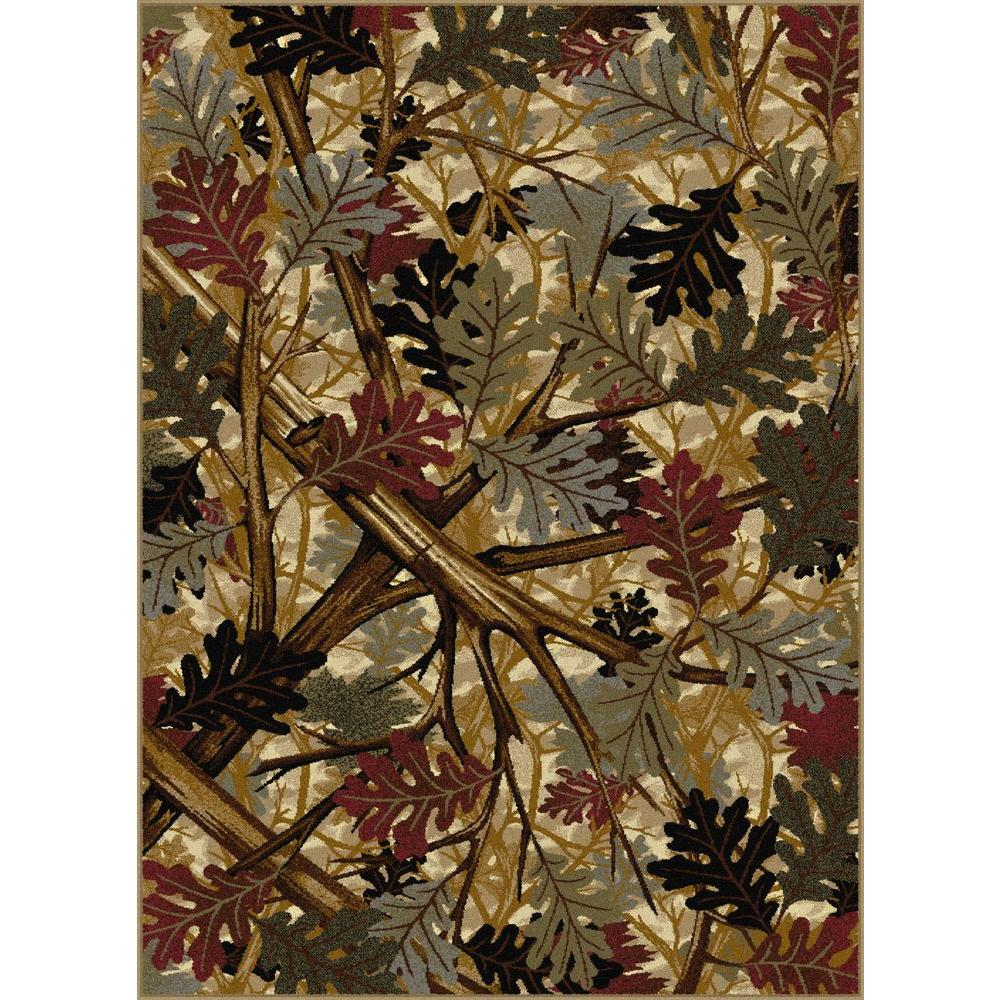 Tayse Rugs Nature Beige 3 ft. 11 in. x 5 ft.