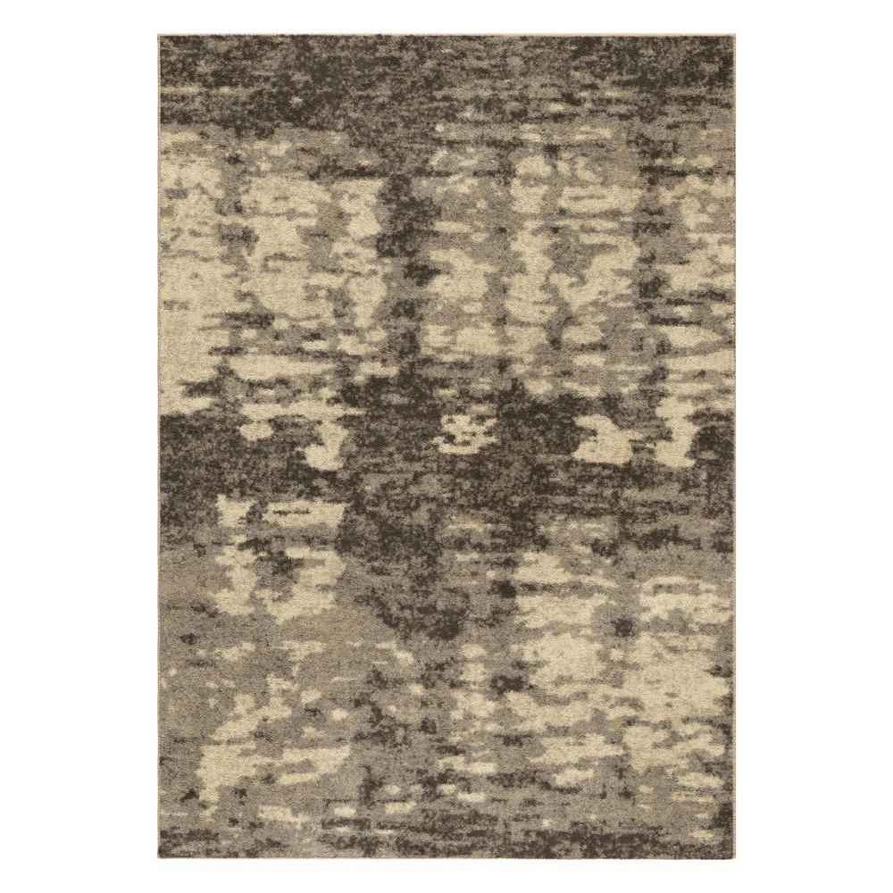null Blended Psalm Beige 7 ft. 10 in. x 10 ft. 10 in. Indoor Area Rug