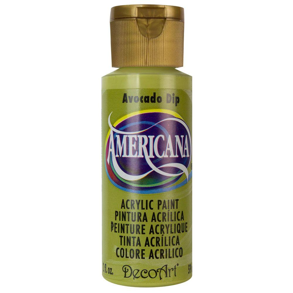 Americana 2 oz. Avocado Dip Acrylic Paint