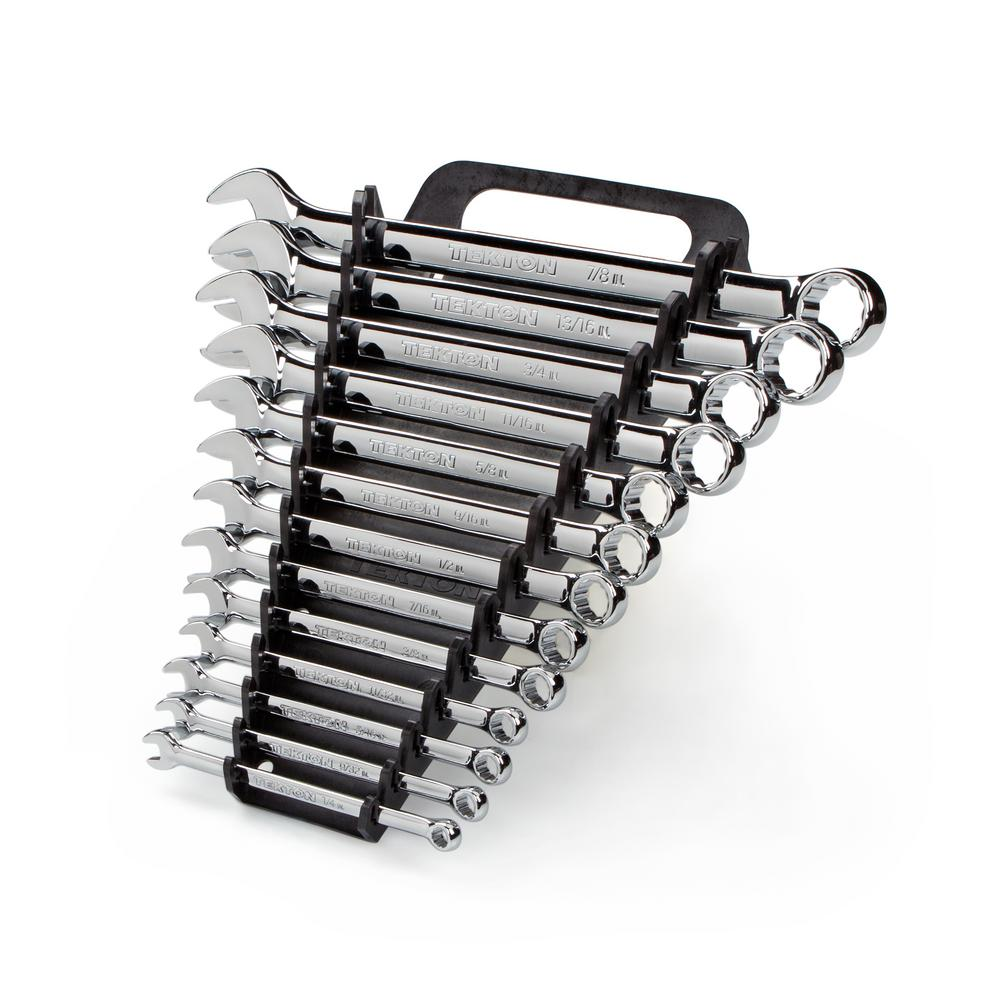 1/4-7/8 in. Combination Wrench Set (13-Piece)