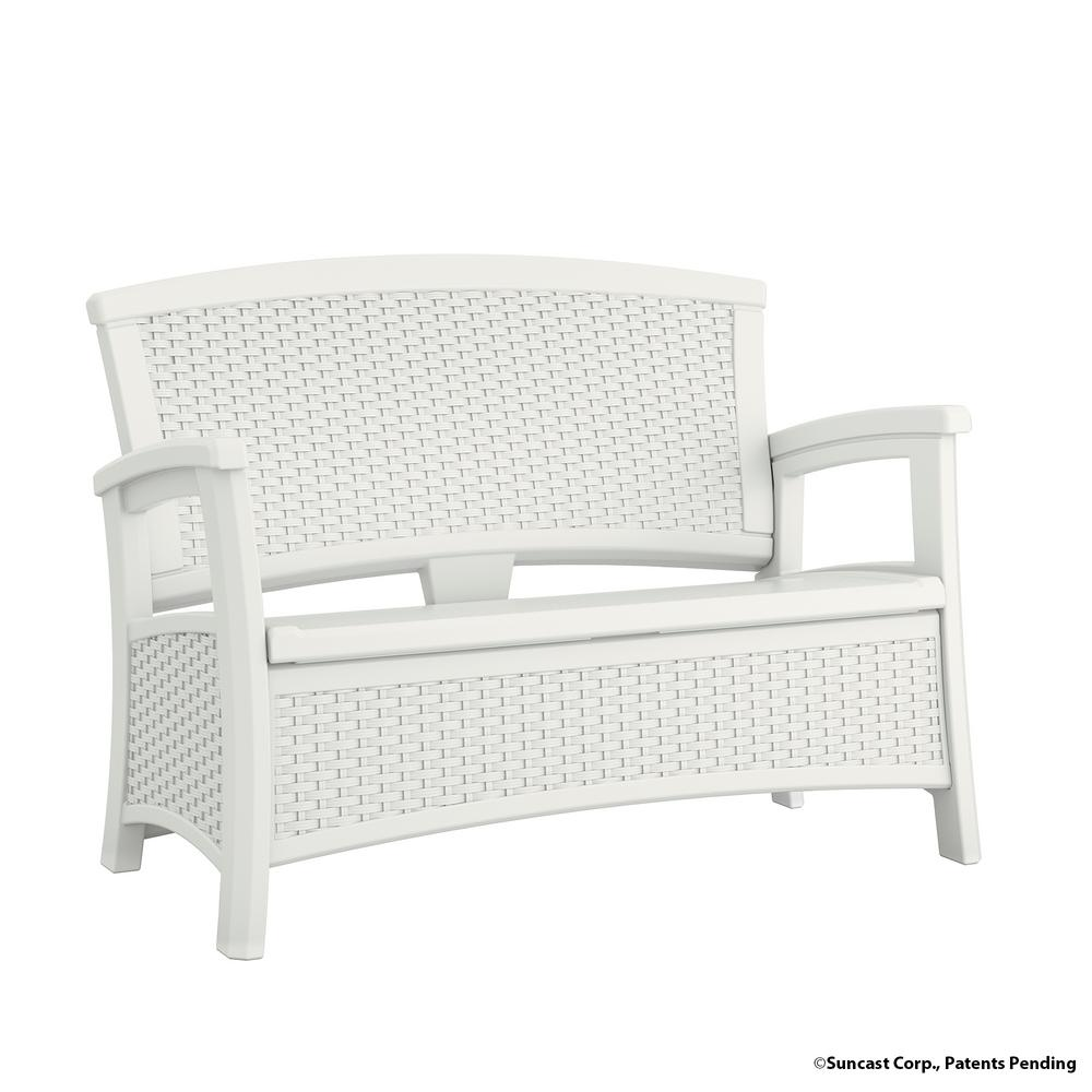 This Review Is From:Elements Resin Outdoor Loveseat With Storage
