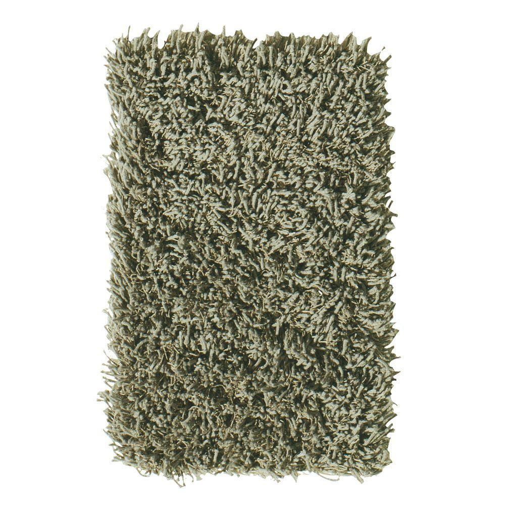 Home Decorators Collection Ultimate Shag Olive 6 ft. x 9 ft. Area Rug