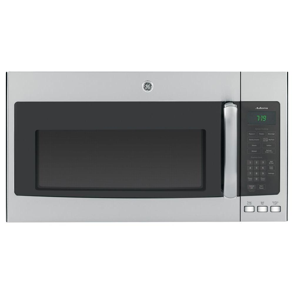 GE Adora 1.9 cu. ft. Over the Range Microwave in Stainless with Sensor Cooking