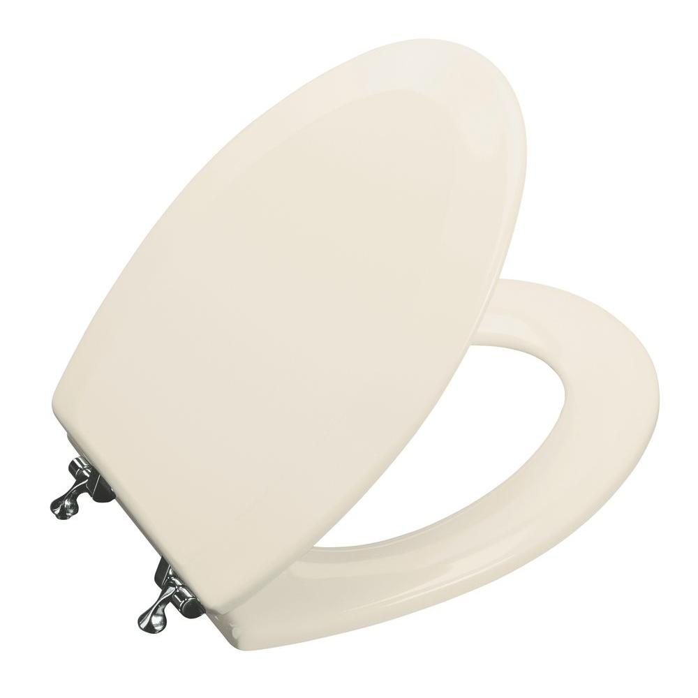 KOHLER Triko Molded Elongated Closed Front Toilet Seat with Cover and