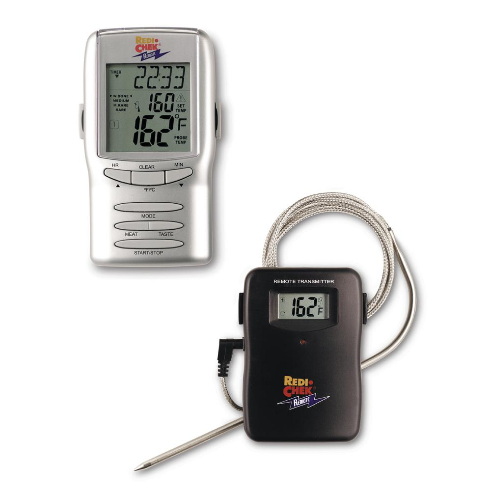 Redi-Chek Silver LCD Food Thermometer