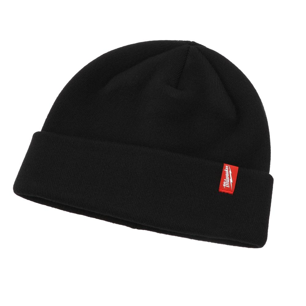 Knit hat featuring a cuffed design for added warmth