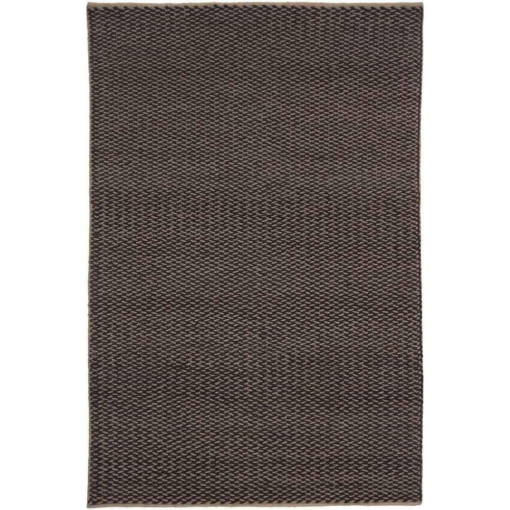 Chandra Milano Black/Taupe 5 ft. x 7 ft. 6 in. Indoor Area Rug