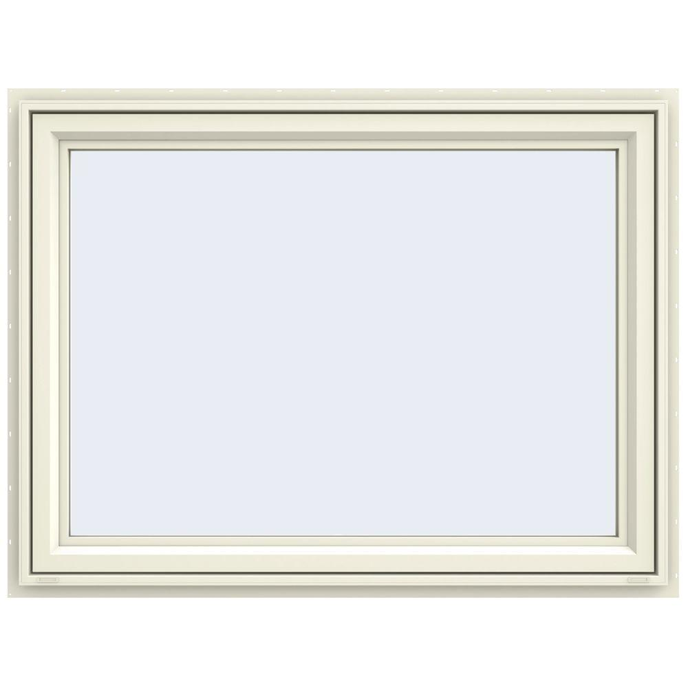 47.5 in. x 35.5 in. V-4500 Series Awning Vinyl Window -